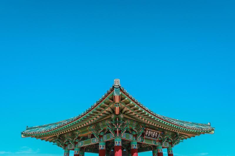 韓国のお寺
