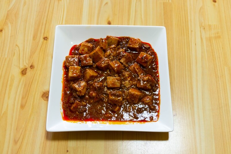 重慶飯店監修の四川風麻婆豆腐